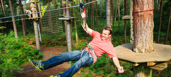 Go Ape at Moors Valley Country Park
